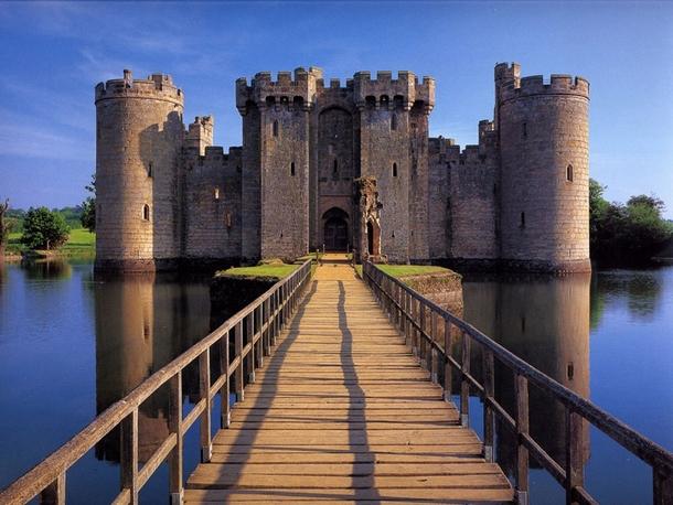 Attractive Bodiam Castle East Sussex England Nice Look
