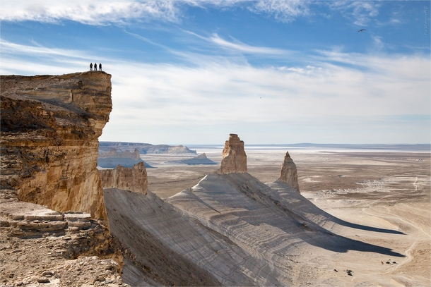 Boszhira a mountain range located on the Ustyurt plateau in south-western Kazakhstan   Ilia Afanasieff