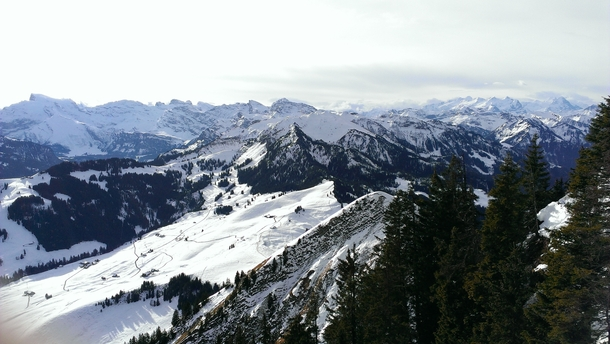 Breathtaking view today on the Stanserhorn Switzerland