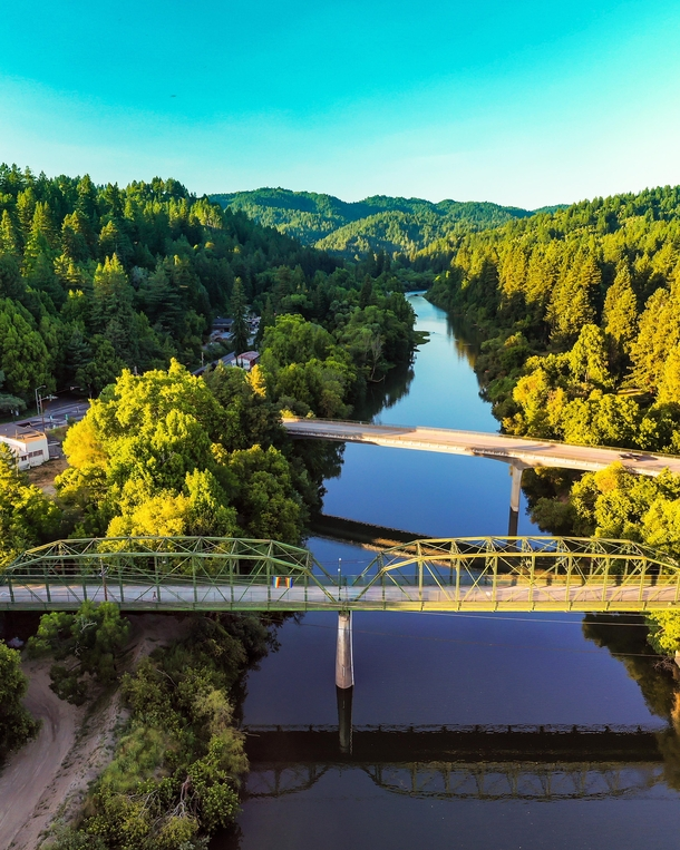 Bridges at Guerneville Sonoma County CA