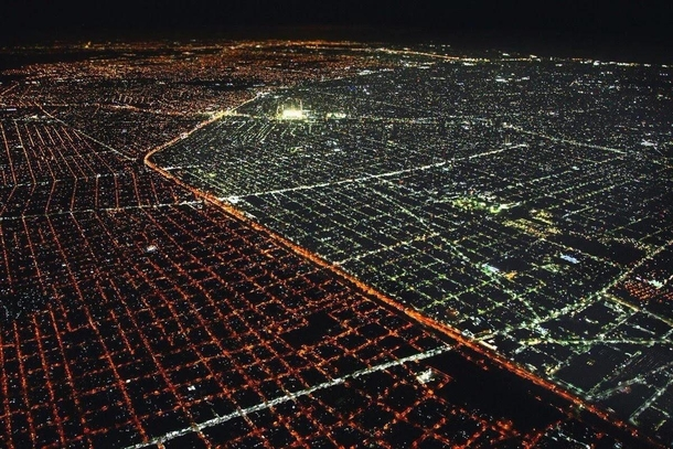 Buenos Aires is the first Latin American capital city with  LED street lights