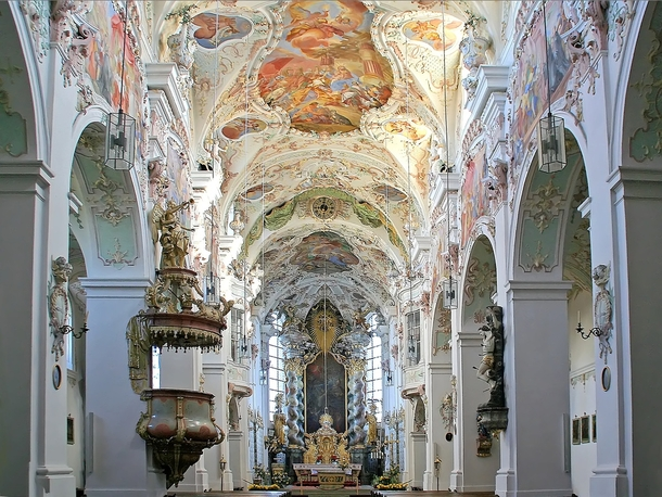 Built in Bavaria Germany during  as a Benedictine monastery Reichenbach Abbey