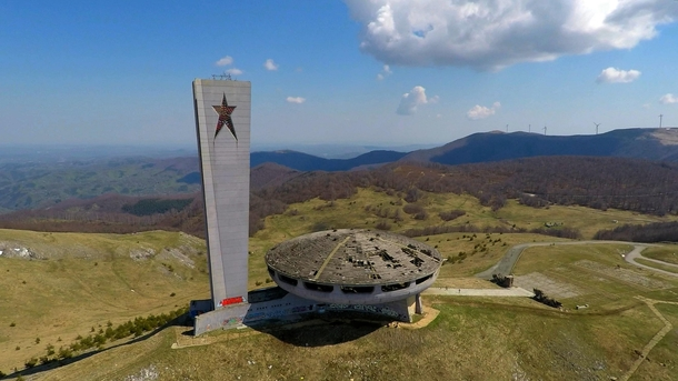 Bulgarias communist UFO The Buzludzha Monument - An abandoned House-Monument of the Bulgarian Communist Party