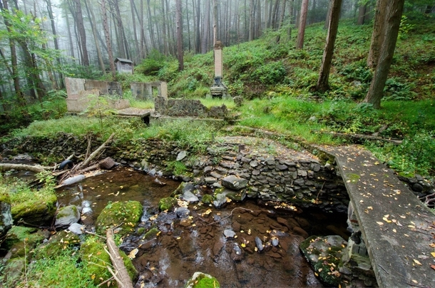 the abandoned stream