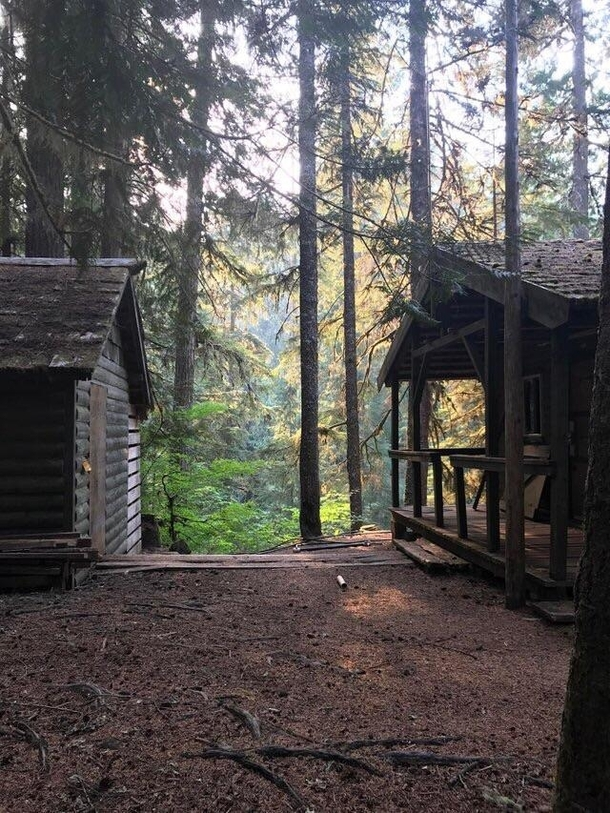 Cabins at Bagby Hot Springs Oregon