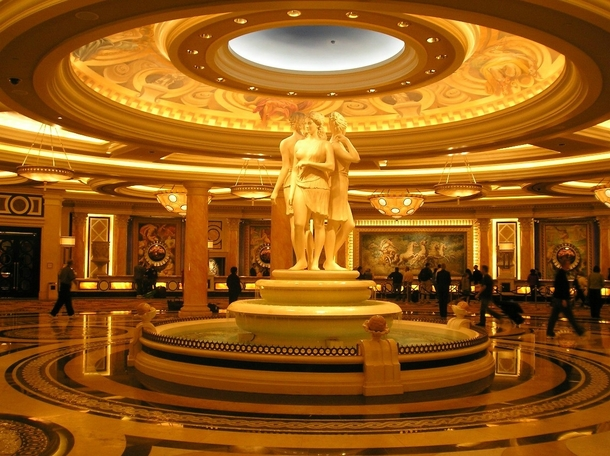 Foyer In Hotel : Caesars palace hotel foyer photorator