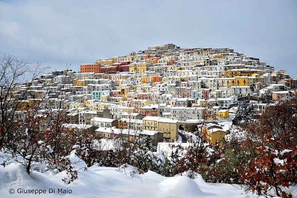 Calitri Italy In Winter Photorator - Italy in the winter