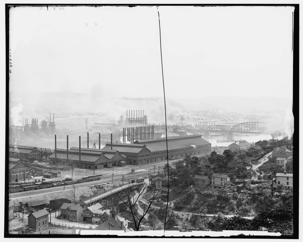 Carnegie Steel Plant Homestead  In  Carnegie sold his operations to US Steel The plant closed in  because of a severe downturn in the domestic steel industry