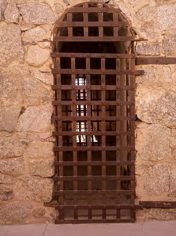 cell door at Yuma Territorial Prison OC & cell door at Yuma Territorial Prison OC - Photorator pezcame.com