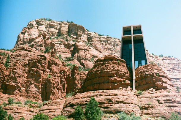 Chapel Of The Holy Cross Sedona Arizona Richard Hein