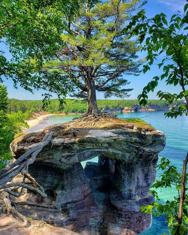 Chapel Rock - Pictured Rocks National Lakeshore
