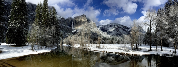 Christmas Day  in Yosemite Valley