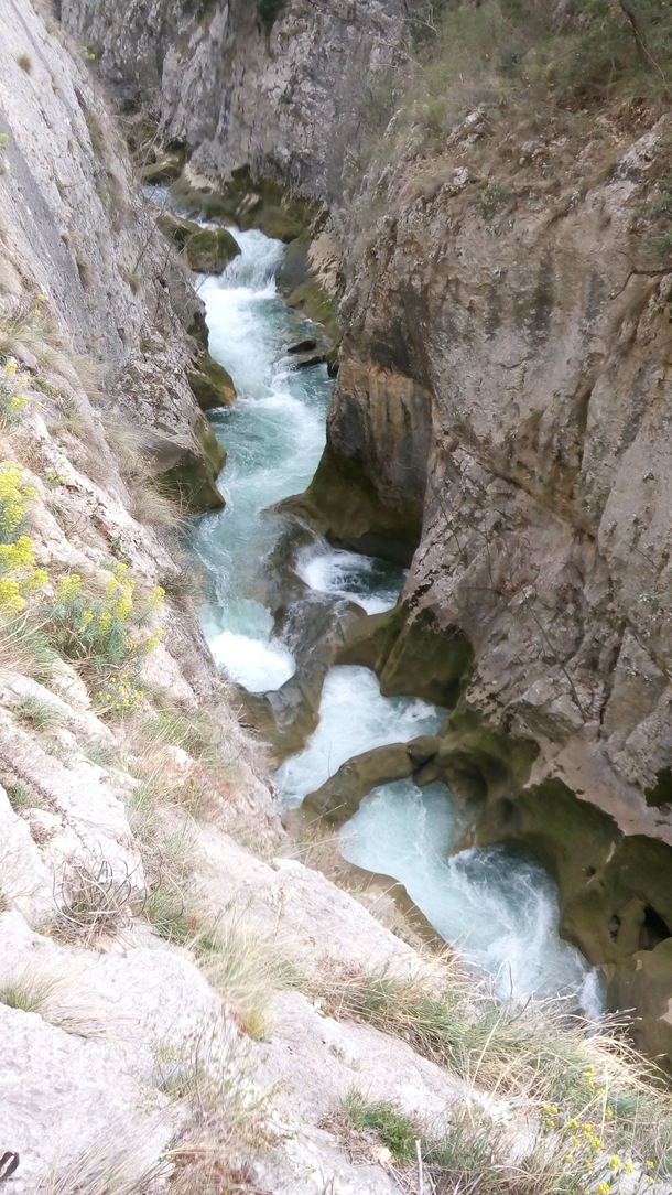 Cikola River Canyon Drnis Croatia