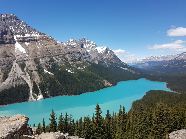 Continuing to spread the love for Alberta Peyto Lake AB