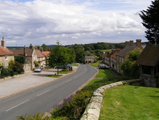 Coxwold North Yorkshire UK