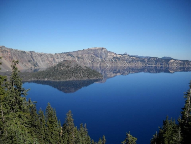 Crater Lake Oregon The bluest water Ive ever seen