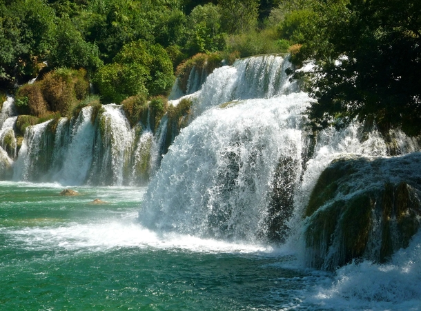 Croatia has some of the most beautiful waterfalls in the world Krka National Park