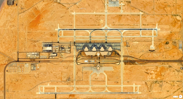 Daily Overview King Khalid International Airport  Riyadh Saudi Arabia overveu