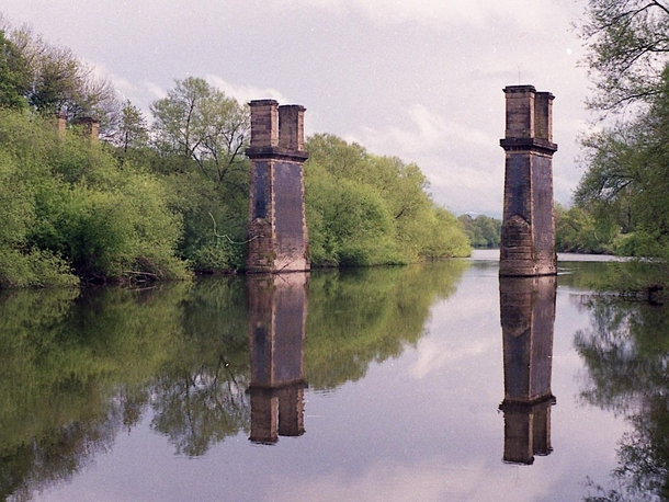 Decommissioned Railway Bridge  Bewdley Worcestershire UK  Built in  and decommissioned around