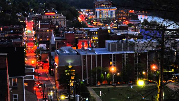 Do small cities count My hometown of Morgantown West Virginia