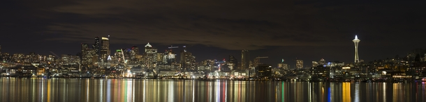 Downtown Seattle from across Lake Union