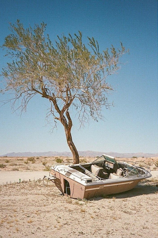 Dry days in Slab City CA Kendall McKenzie