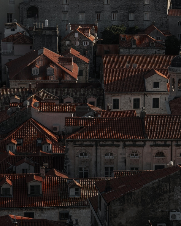 Dubrovniks red roofs