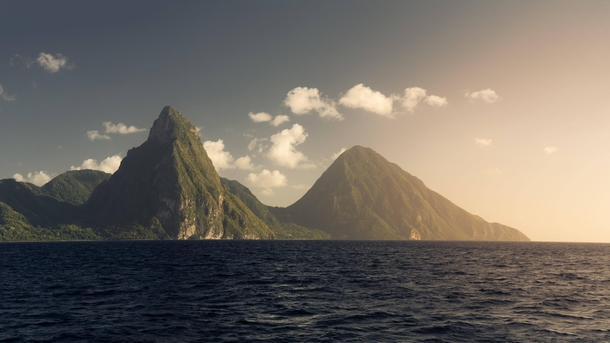 Earthspines No  - The Pitons St Lucia  OC IG griffinbarnett