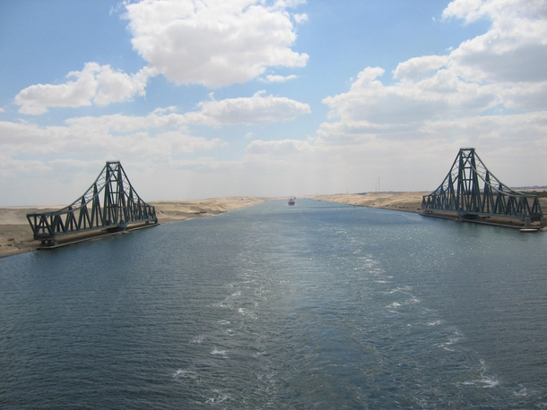 El Ferdan Railway Bridge the longest swing bridge in the world