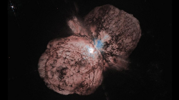 Eta Carinae Estimated to be  times more massive than our Sun unstable star Eta Carinae may be one of the most massive stars in our galaxy