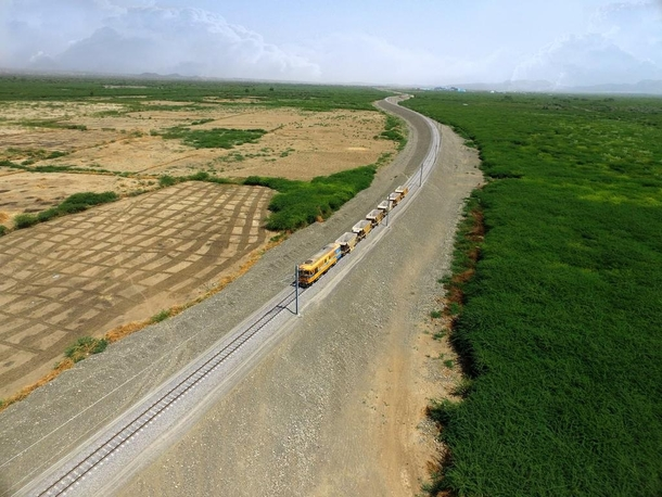 Ethiopia Railway expansion Awash to Woldia