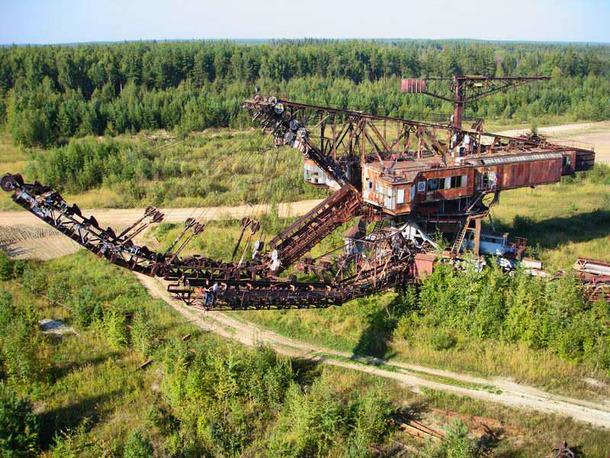 german mining machine