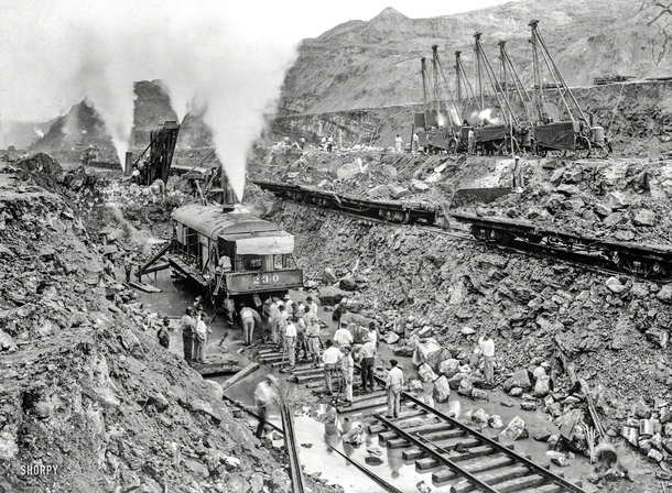 Excavation of the Panama Canal