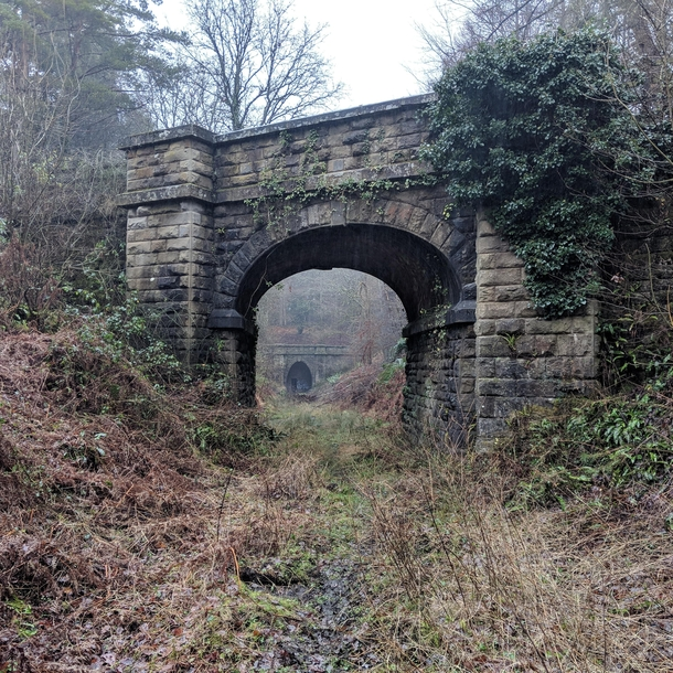 Exploring Britains Disused railways tunnels and Stations  x  OC