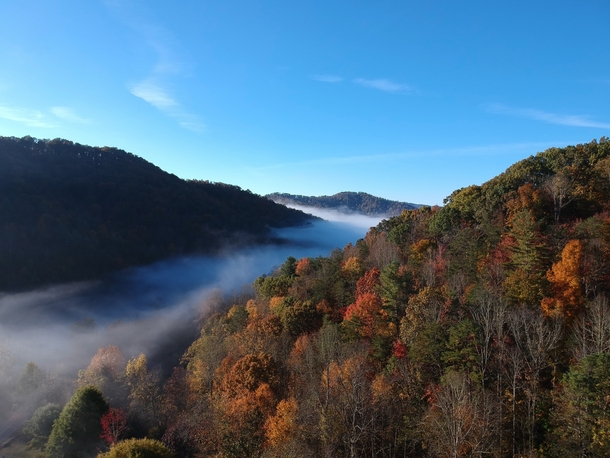 Fall in North Carolina mountains