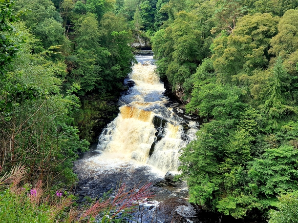 Falls of the Clyde Scotland