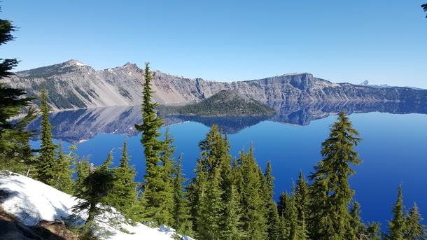 First trip to Crater Lake Oregon