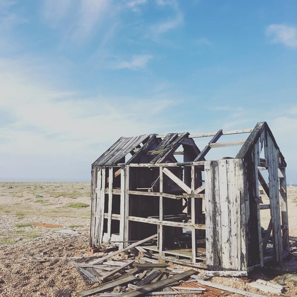 Fishermans Shack Dungeness UK
