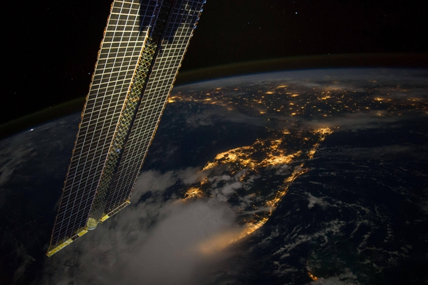 Florida as seen from the ISS