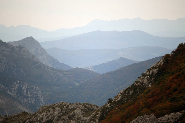 Foothills of the Picos de Europa Spain