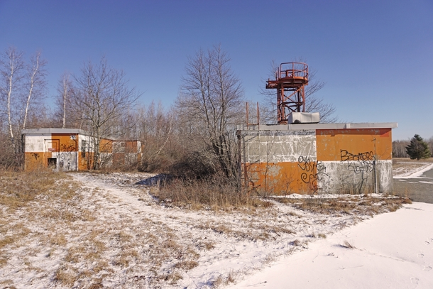 Forgotten WWII Radar Facilities  Weymouth MA  OC  More photos of the Naval Air Station in comments