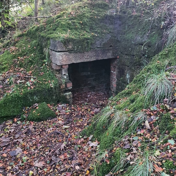 Found this old entrance to an underground bunker along a path Ive walked most days the  years Ive lived here