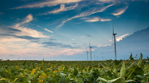 Fowler Ridge Wind Farm Fowler IN USA