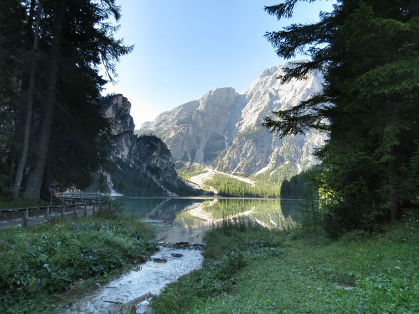 From my trip to the Italian Dolomites - Lago di Braies Italy