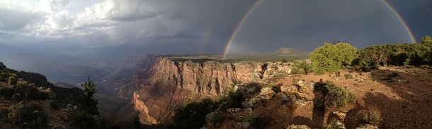 From my visit to Desert View Grand Canyon after a thunderstorm August