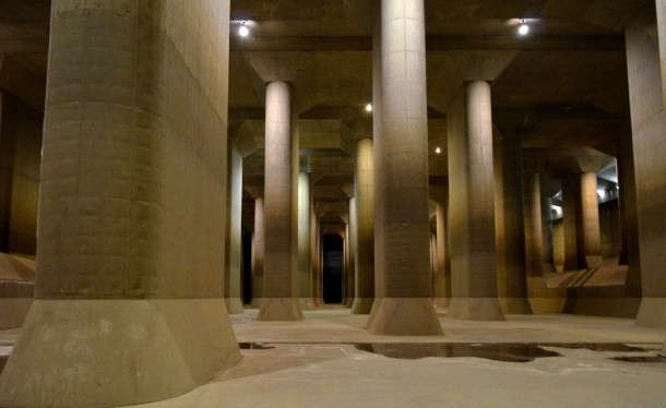 G-Cans Project Japan worlds largest underground flood water diversion facility