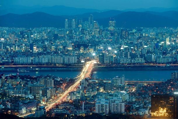 Gangnam District Seoul South Korea - Photorator