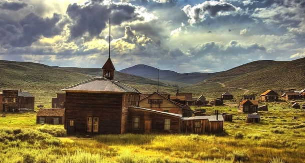 Ghost town of Bodie CA Photographer unknown