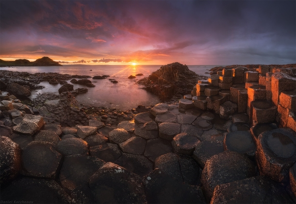 Giants Causeway Ireland  by Daniel Kordan