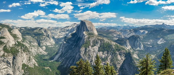 Glacier Point and Half Dome in All its Glory